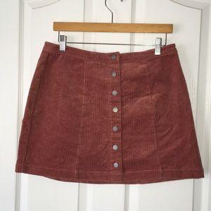 Forever 21 Dusty Rose Mini Skirt